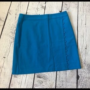 Classy blue skirt with buttons